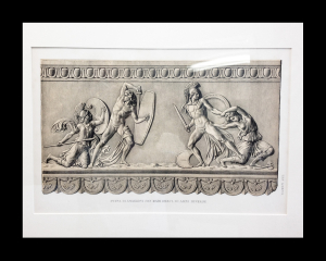 Roma. Antiche Opre. 1852. Matted size 17 x 21